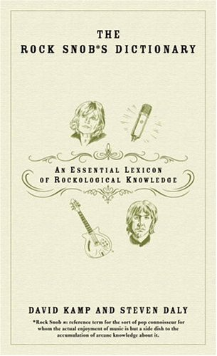 Dictionnaire des snobs du rock